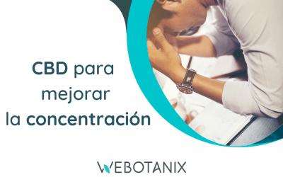 CBD para mejorar la concentración